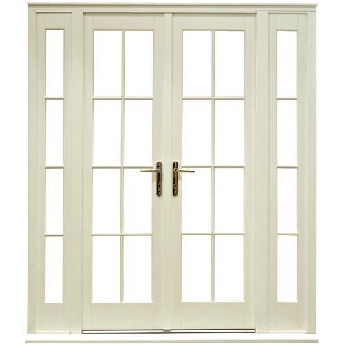 interior french doors sidelights photo - 2