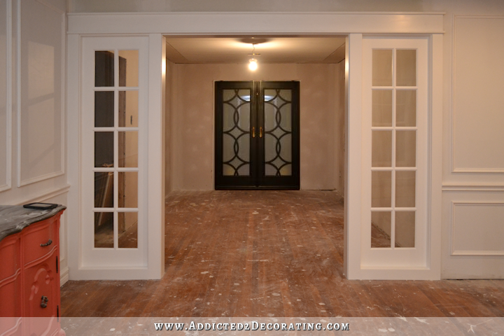 interior french doors sidelights photo - 8