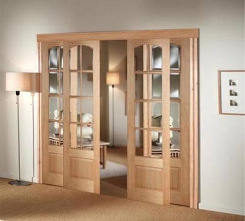 interior french doors sliding photo - 3