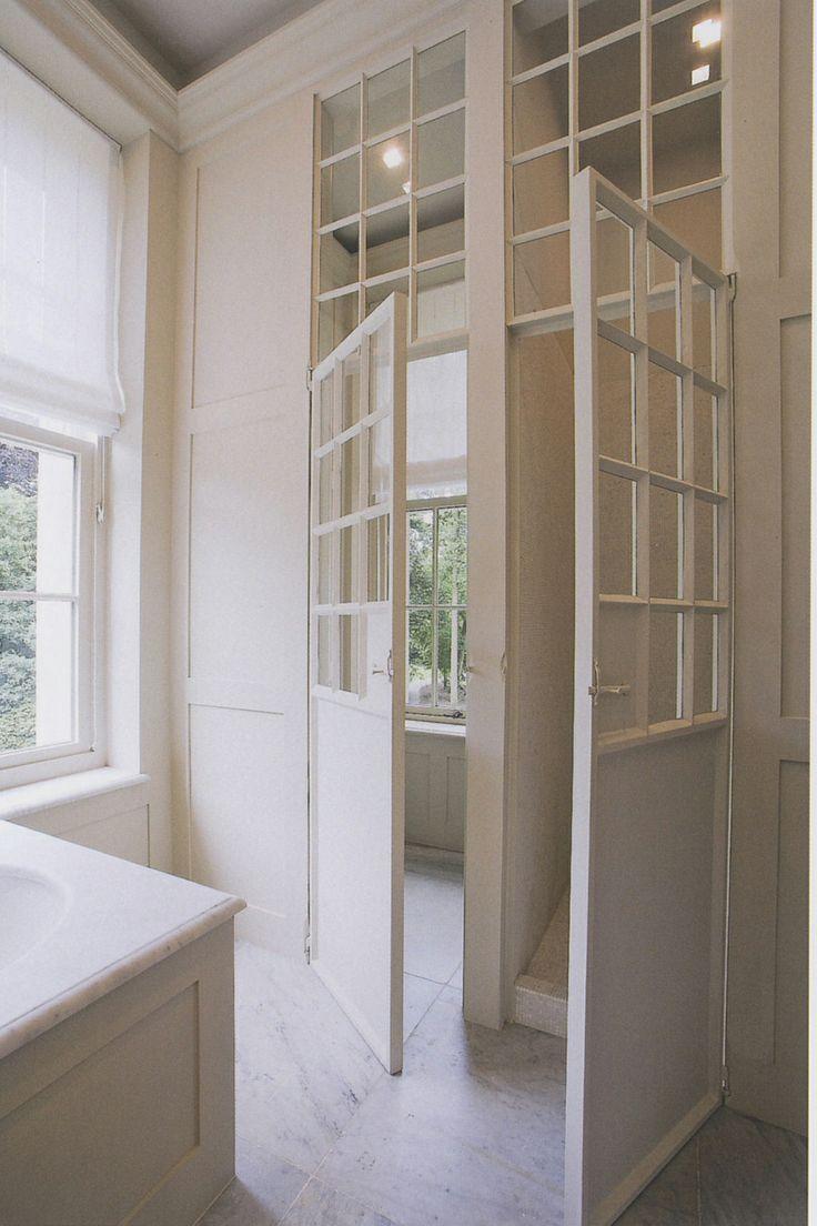 interior french doors white photo - 1