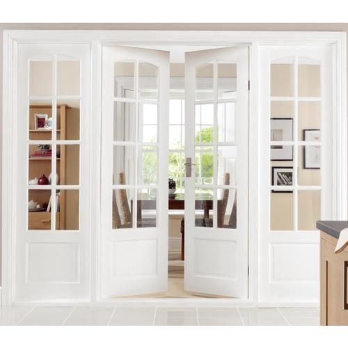 interior french doors white photo - 10