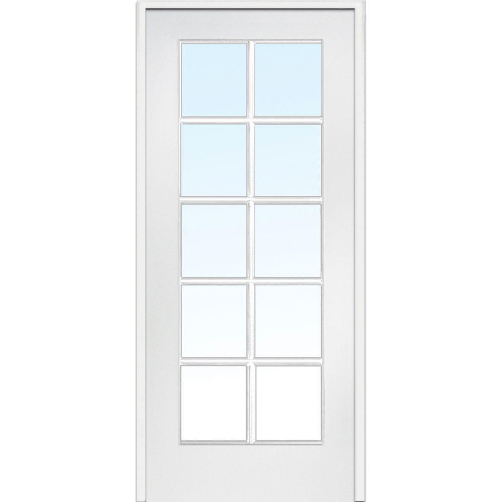 interior french doors white photo - 4