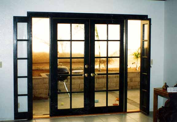 interior french doors with sidelites photo - 1