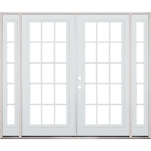 interior french doors with sidelites photo - 4