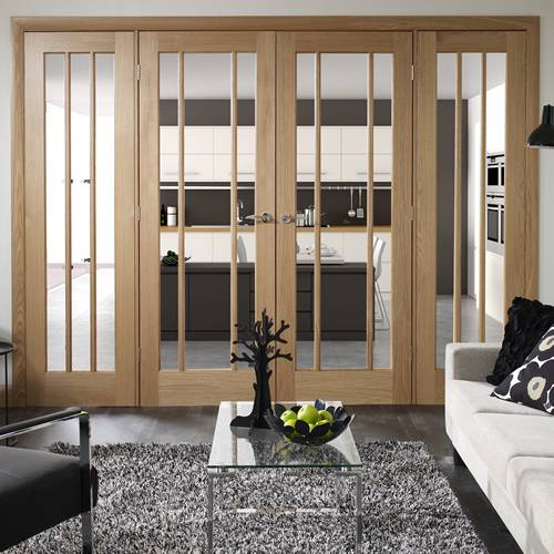 interior french doors with sidelites photo - 8