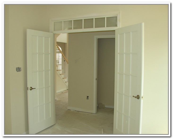 Interior French Doors Without Glass Photo   1
