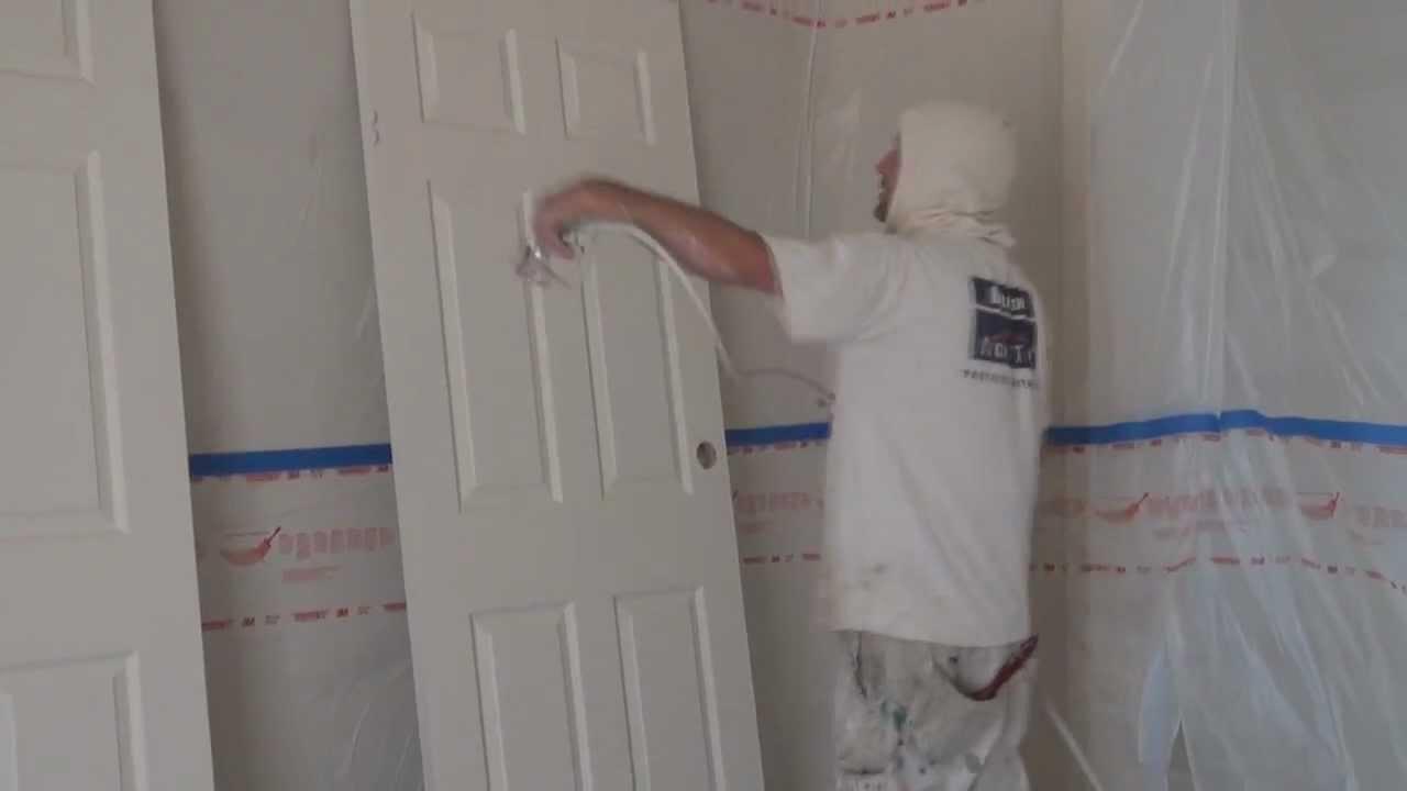 interior home paint gun photo - 3