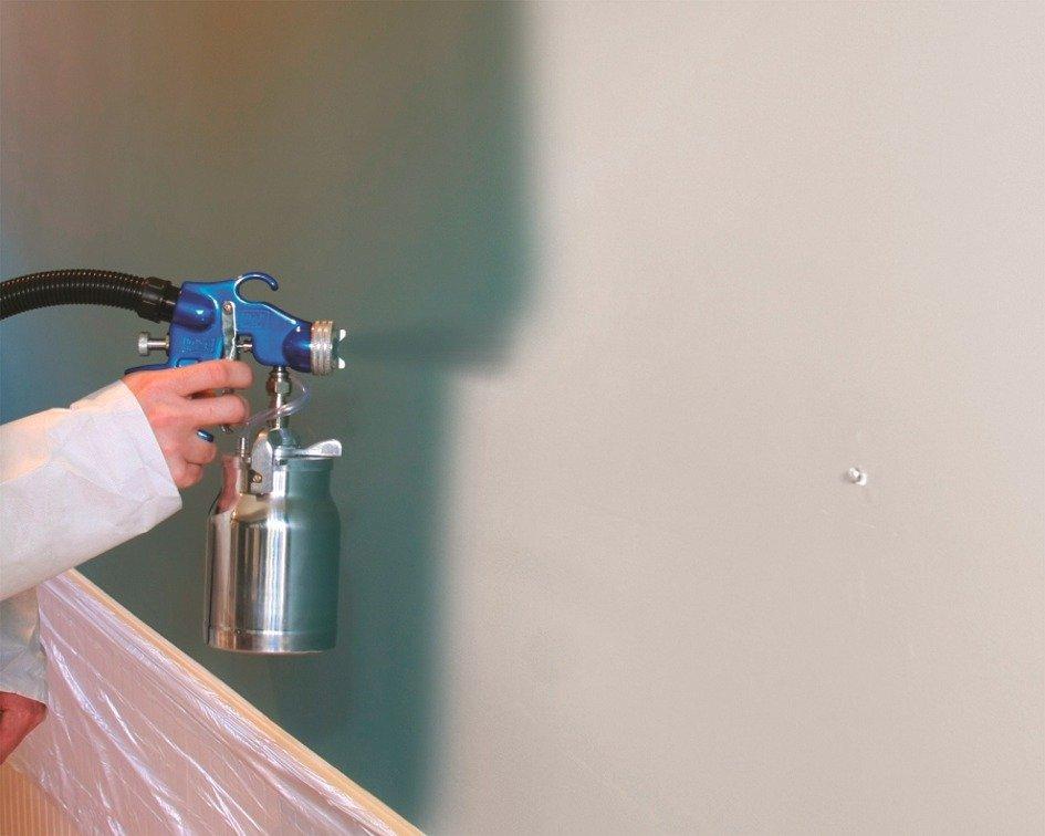 interior home paint gun photo - 7