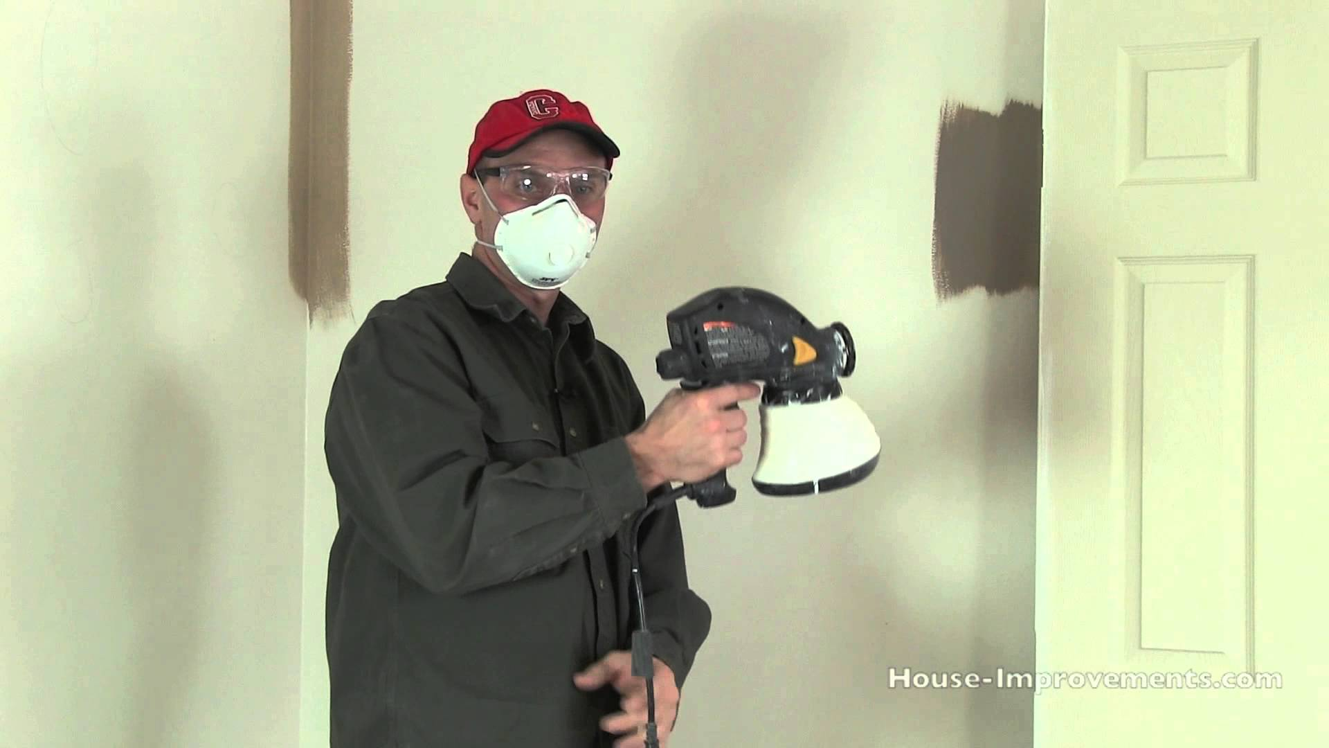 interior home paint gun photo - 8