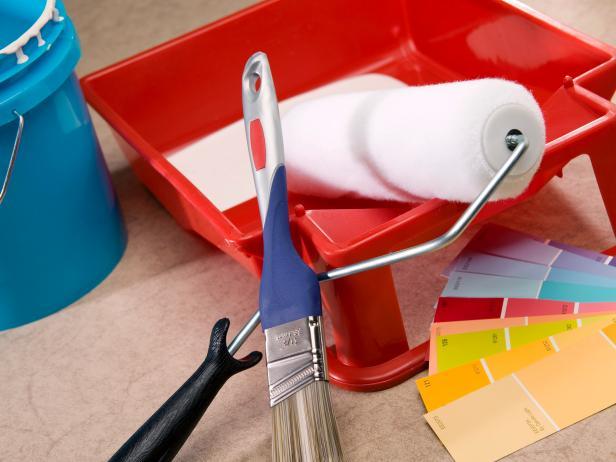 interior house painting equipment photo - 1