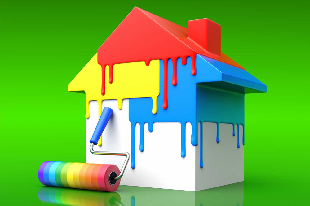 interior house painting equipment photo - 2