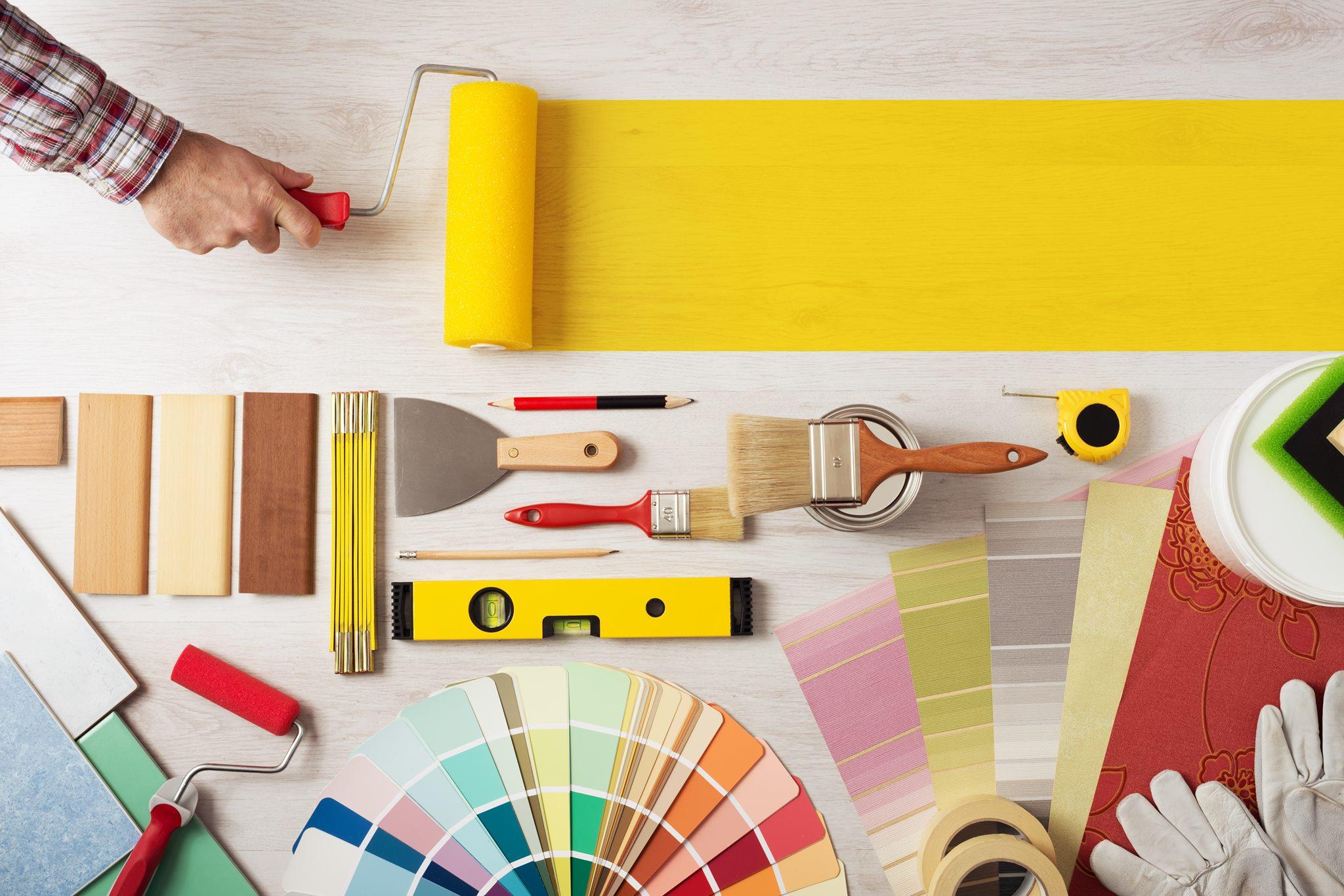 interior house painting equipment photo - 3