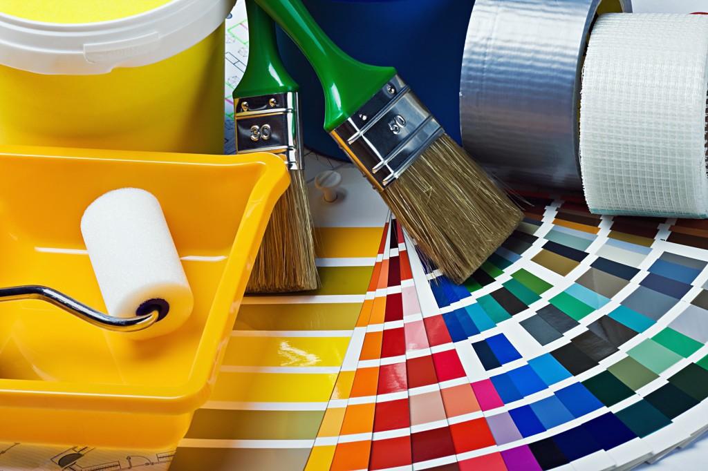 interior house painting equipment photo - 8