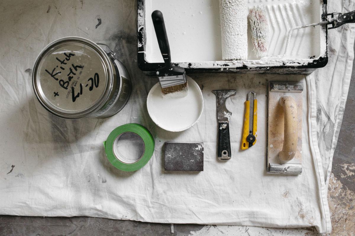 interior house painting equipment photo - 9