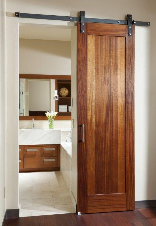 interior sliding doors bathroom photo - 10