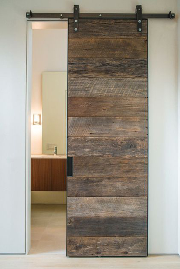 interior sliding doors bathroom photo - 9