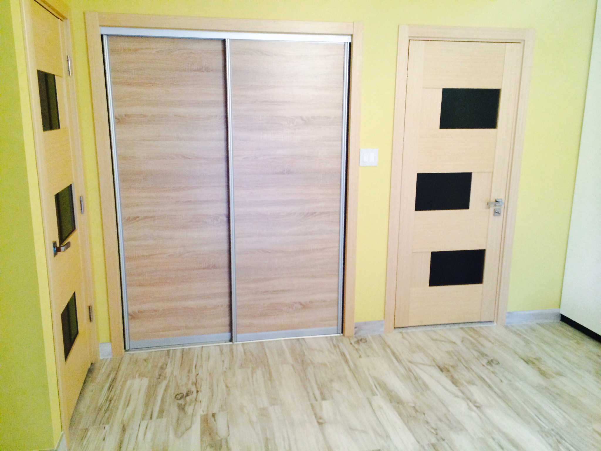 interior sliding doors installation photo - 8