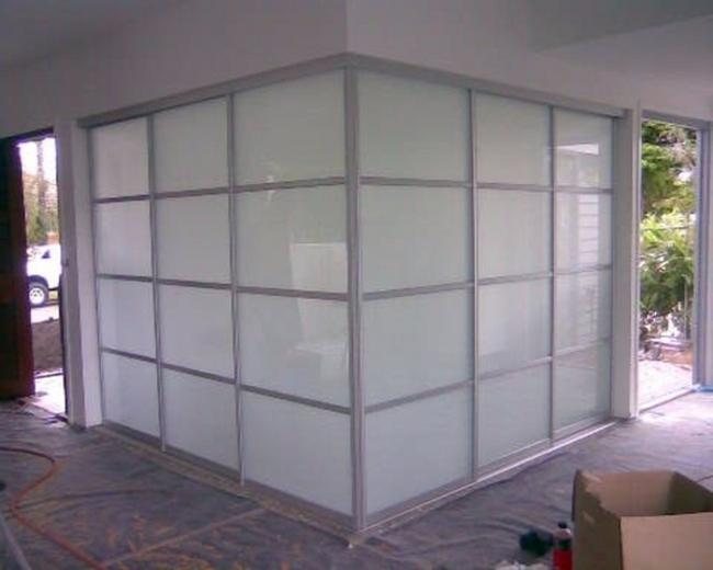 interior sliding doors room dividers photo - 3