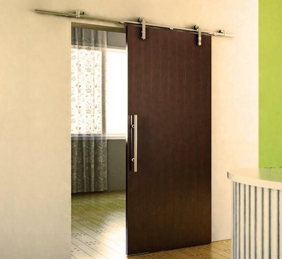 interior sliding metal doors photo - 4