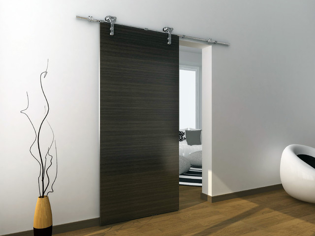 interior sliding metal doors photo - 8