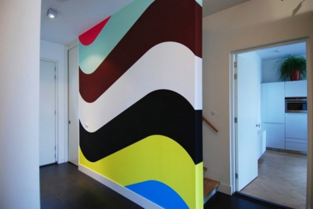 interior wall paint design ideas photo - 3
