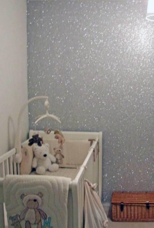 interior wall paint glitter photo - 5