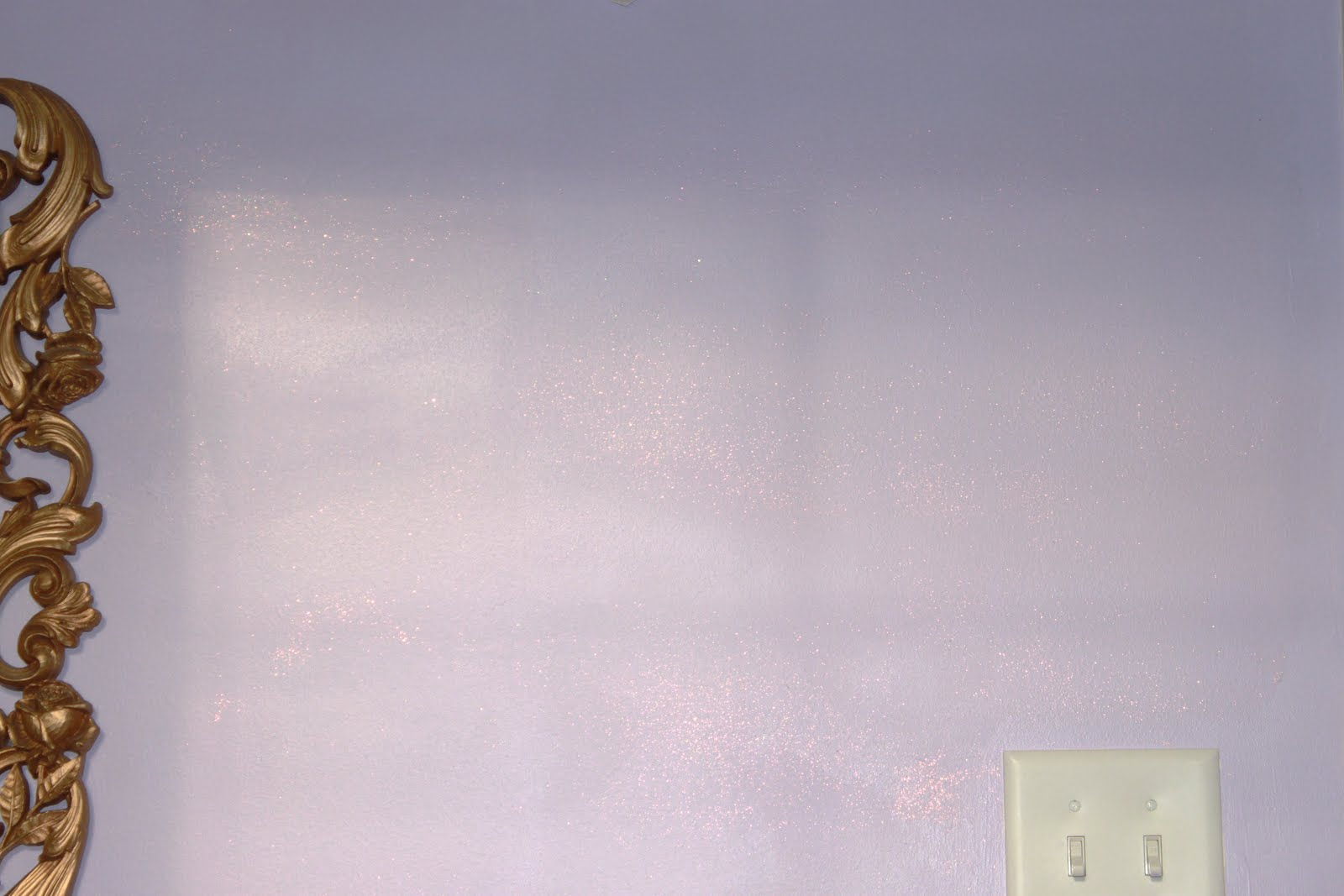 interior wall paint glitter photo - 7