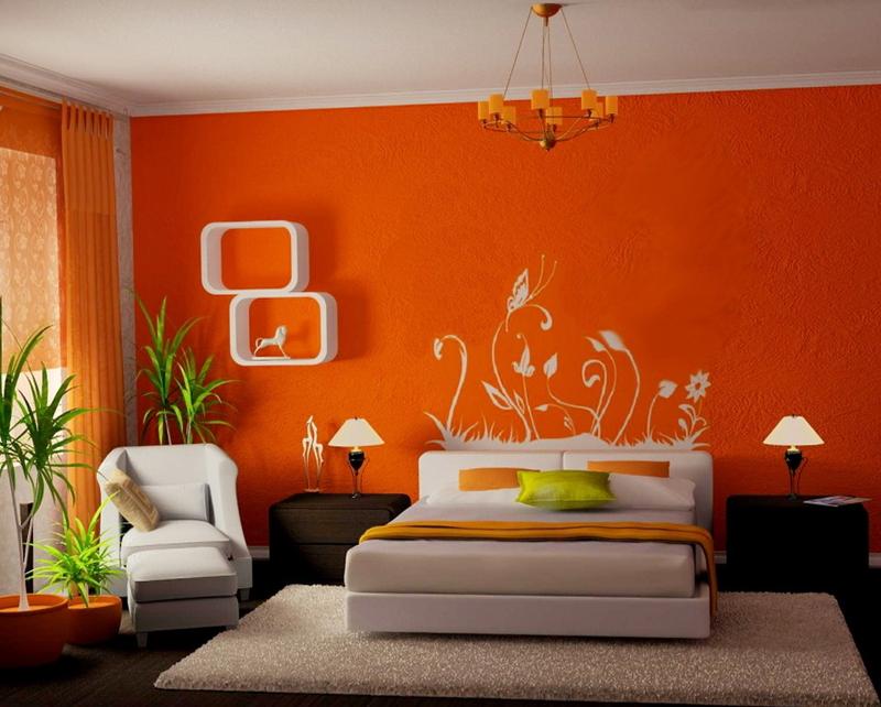 interior wall paint green photo - 8