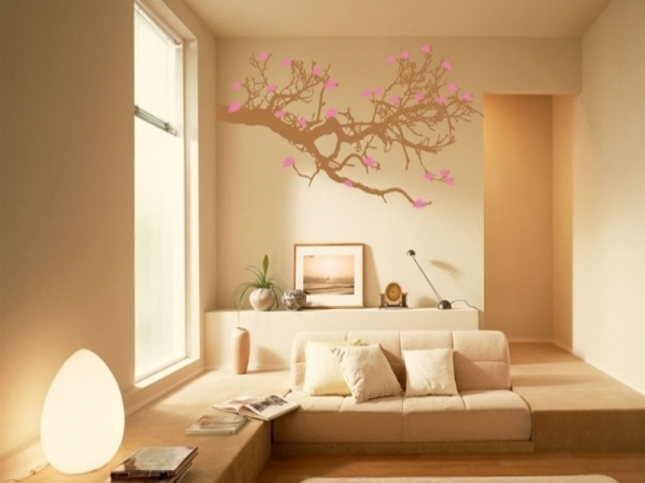 interior wall painting design photos photo - 8