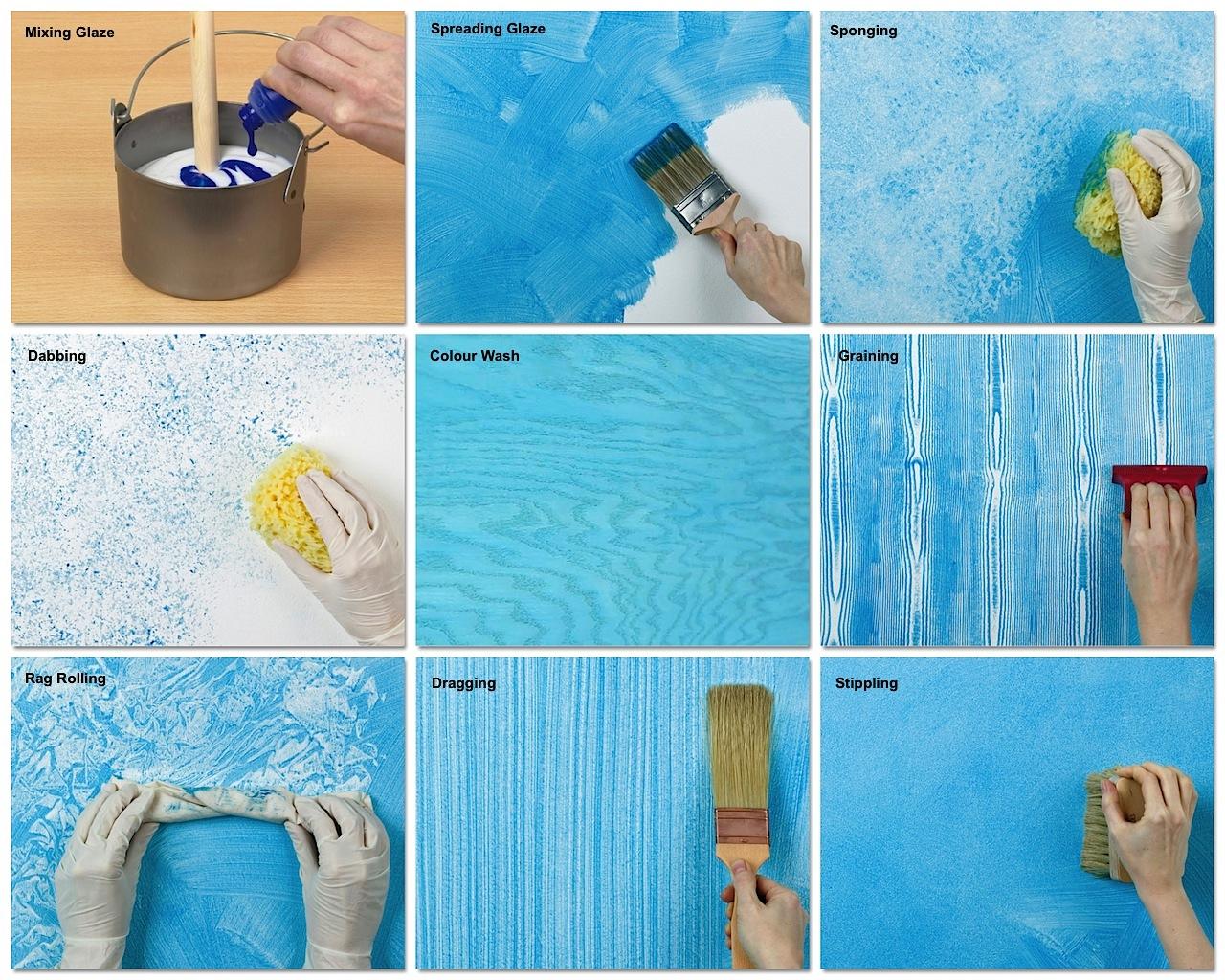 interior wall painting diy photo - 1