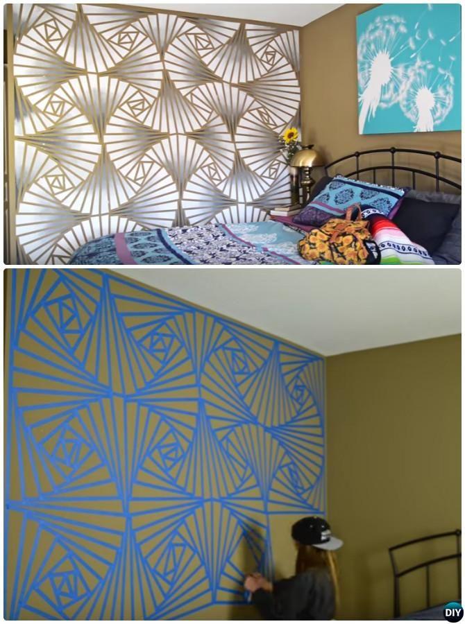 interior wall painting diy photo - 10