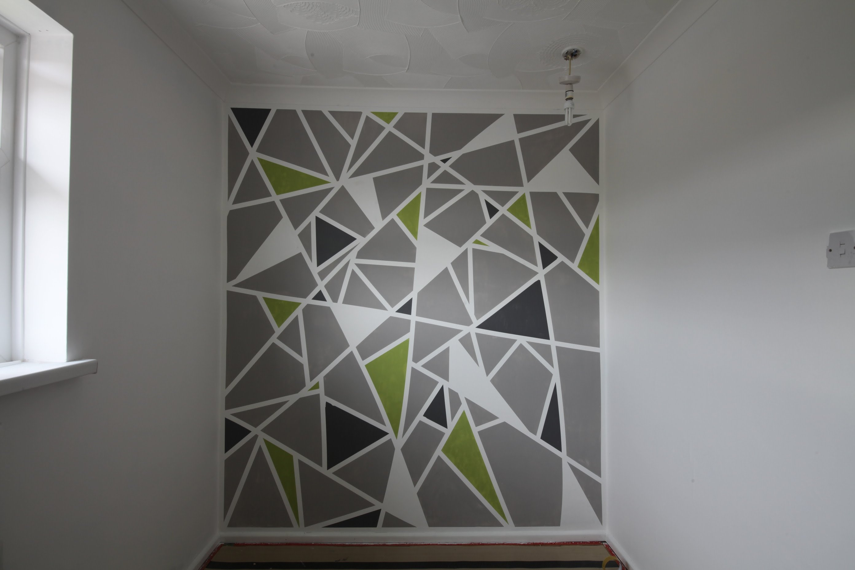 interior wall painting diy photo - 5