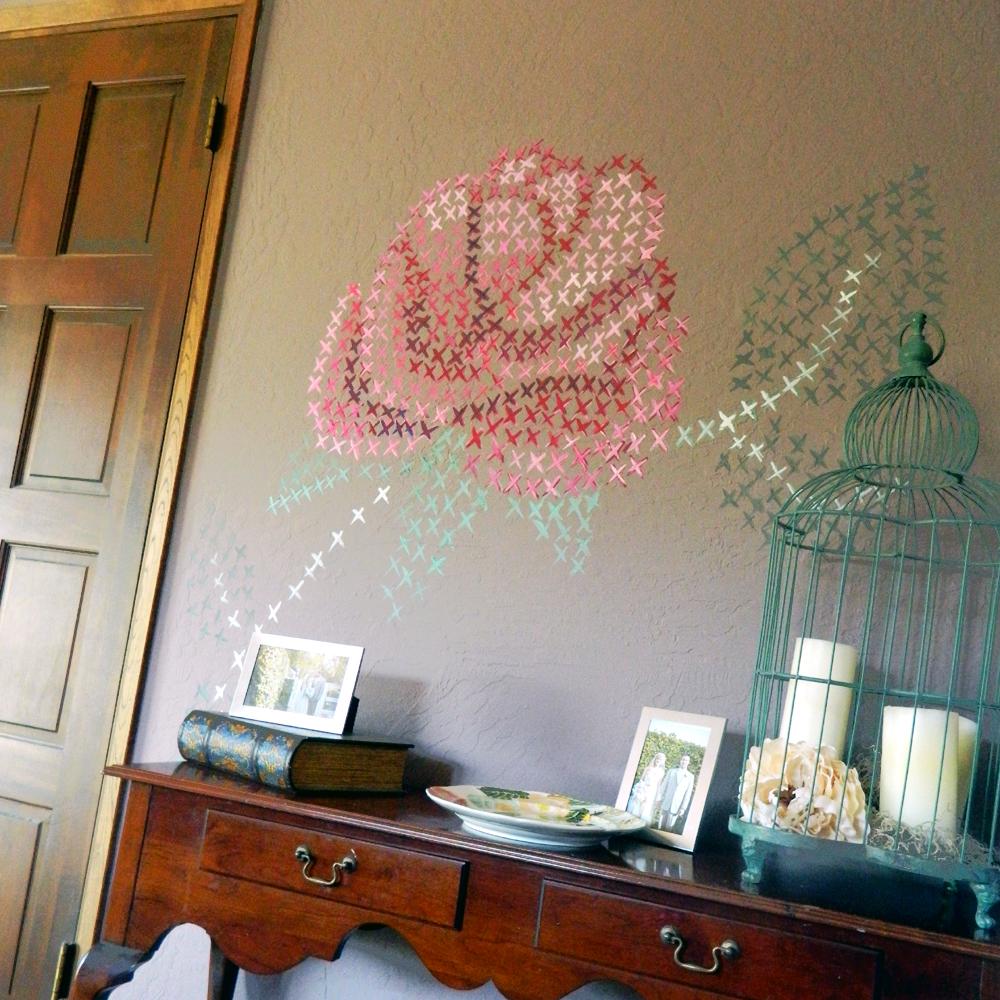 interior wall painting diy photo - 8