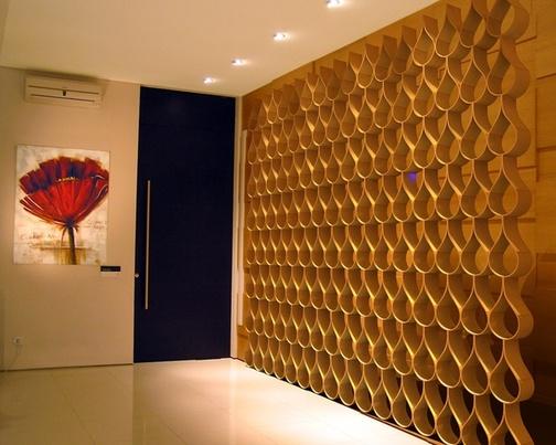 interior wood wall paneling designs photo - 2