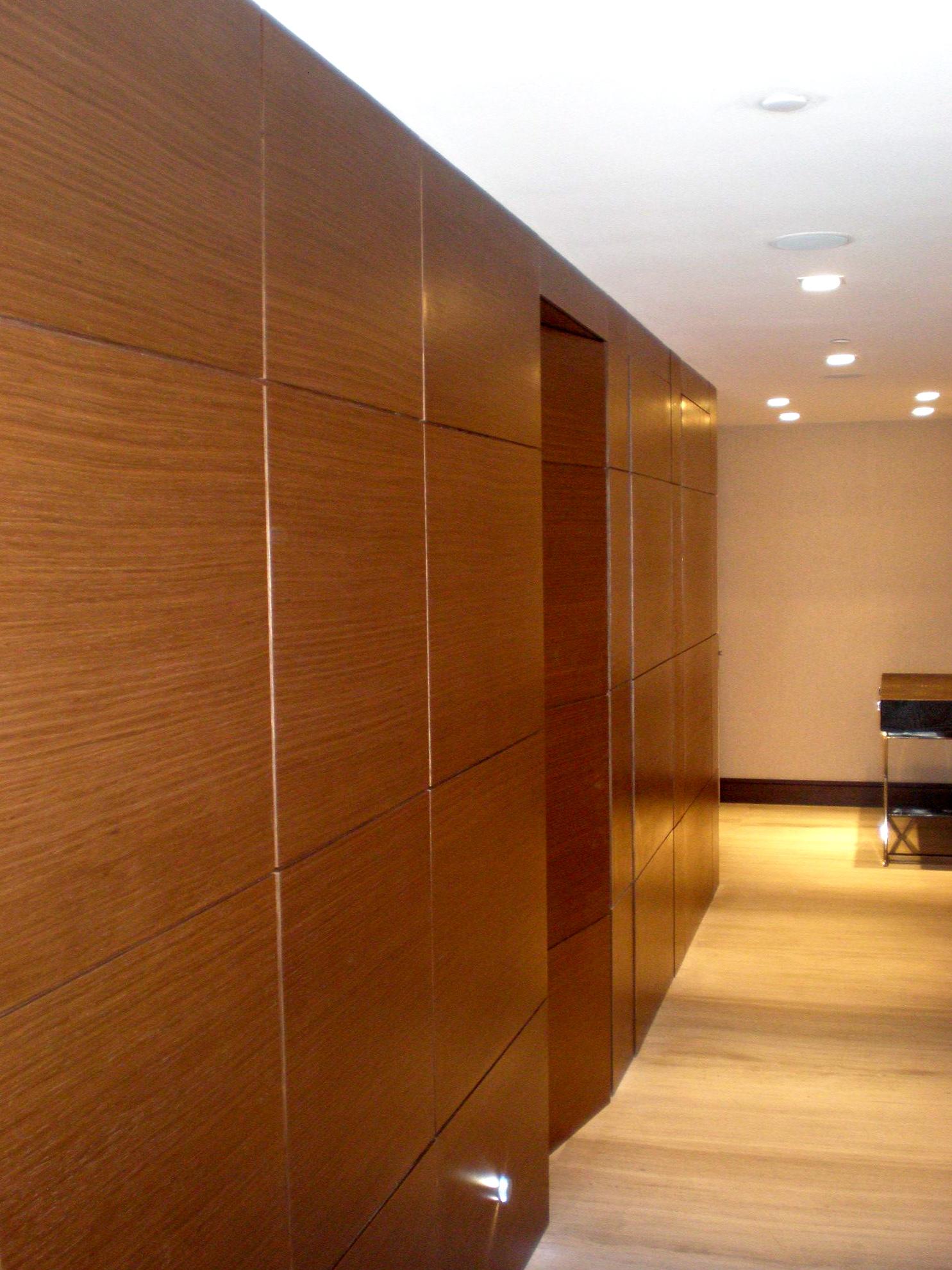 interior wood wall paneling designs photo - 4