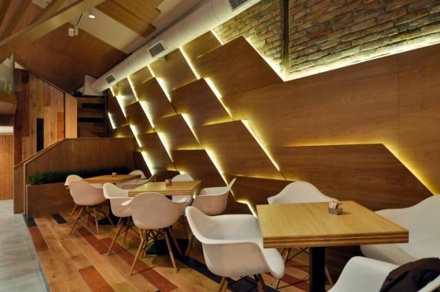 interior wood wall paneling designs photo - 5