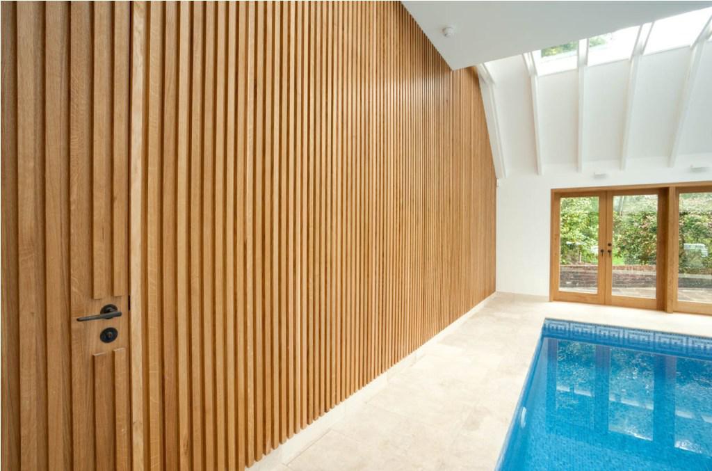 interior wood wall paneling designs photo - 7