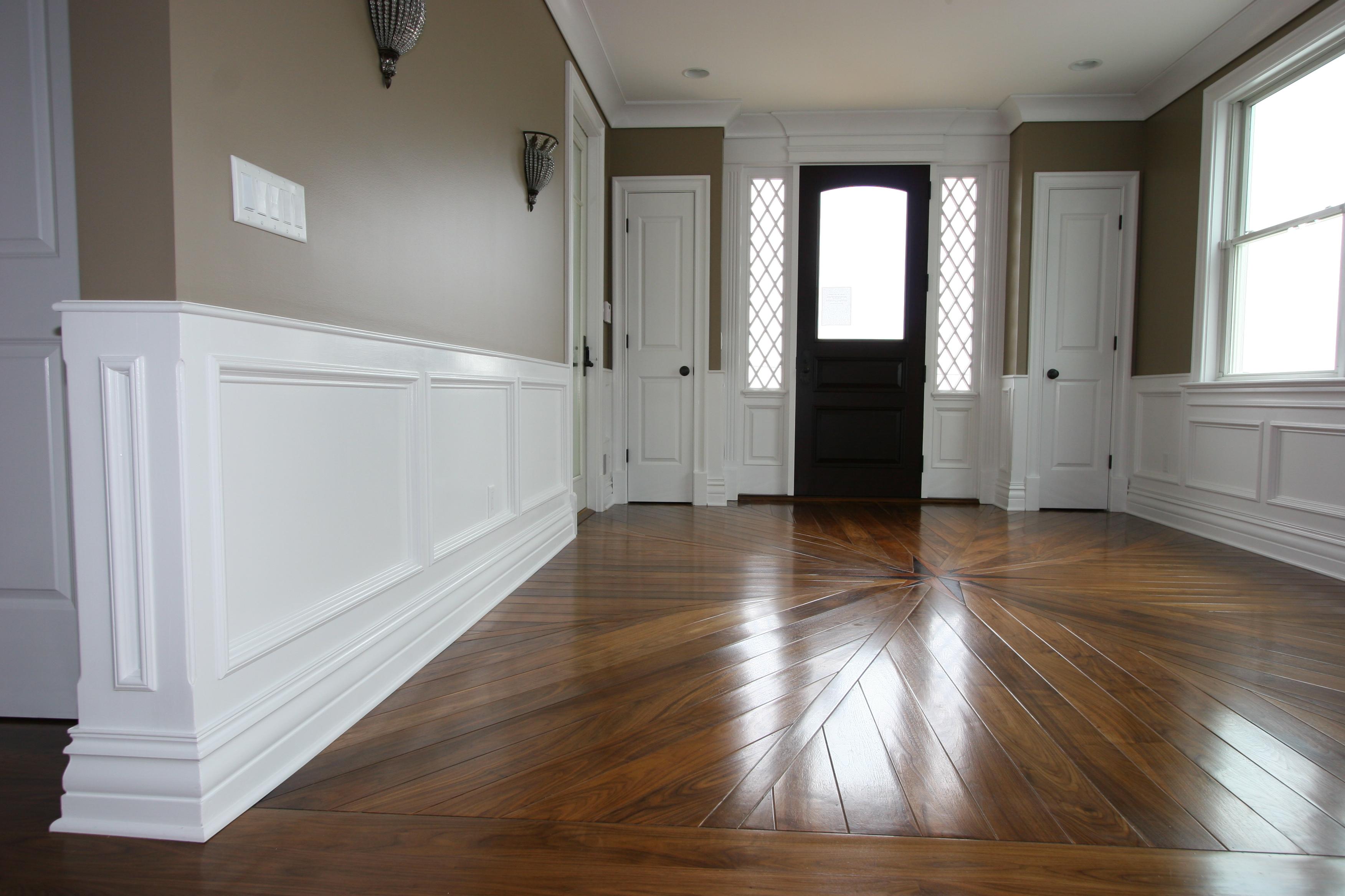 interior wood wall paneling designs photo - 9
