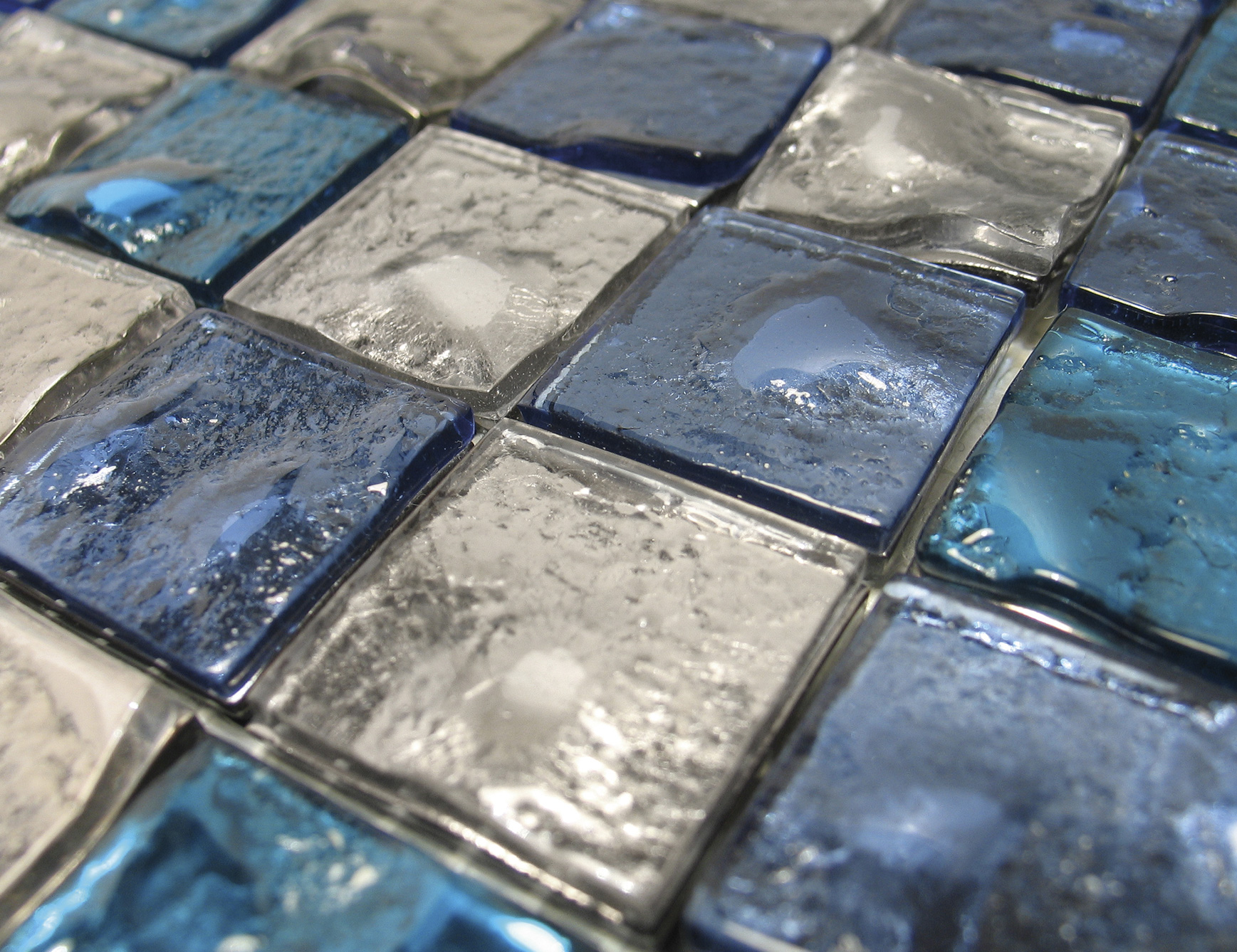 italian glass bathroom tile photo - 6
