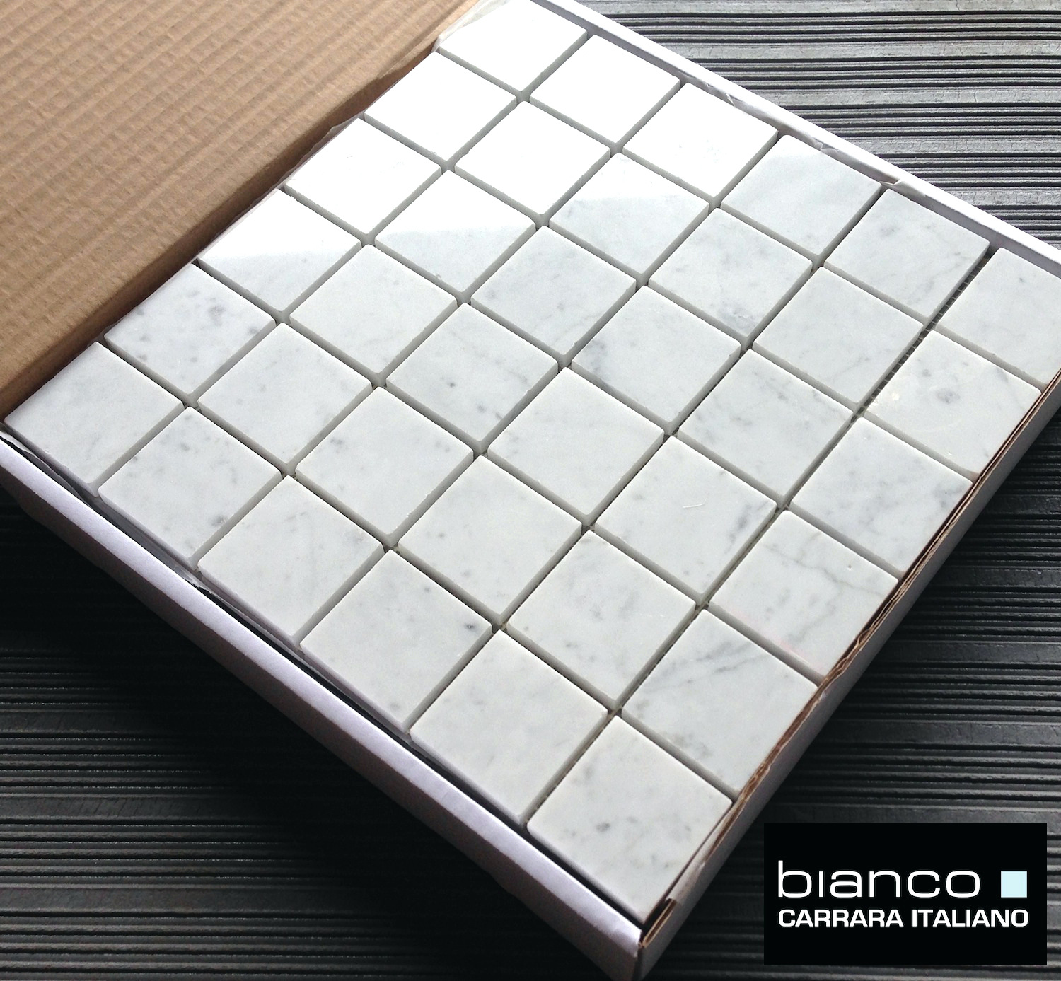 italian glass bathroom tile photo - 7