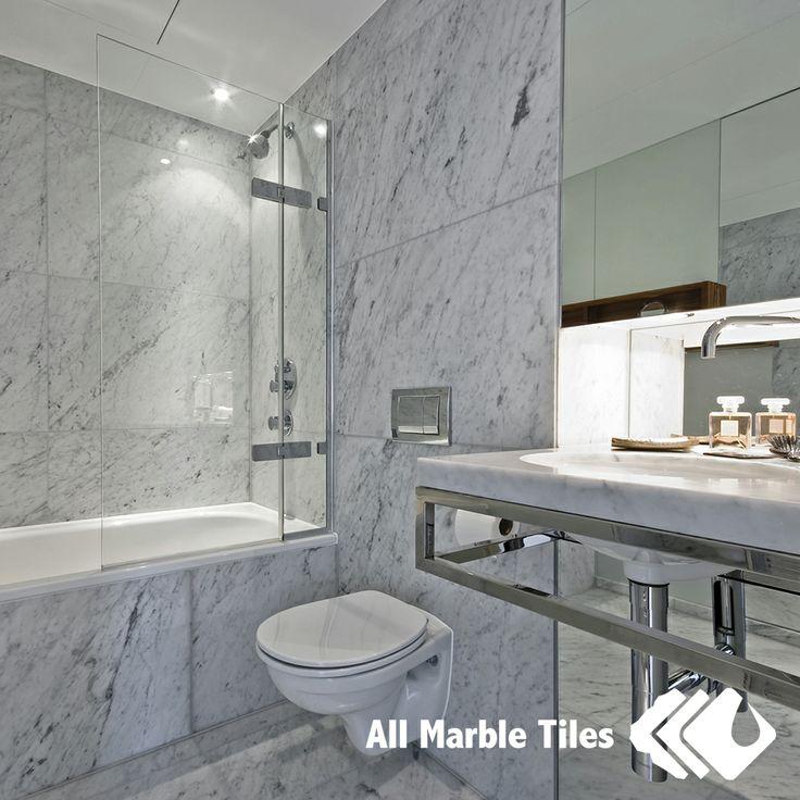 Carrara Marble Tv Unit