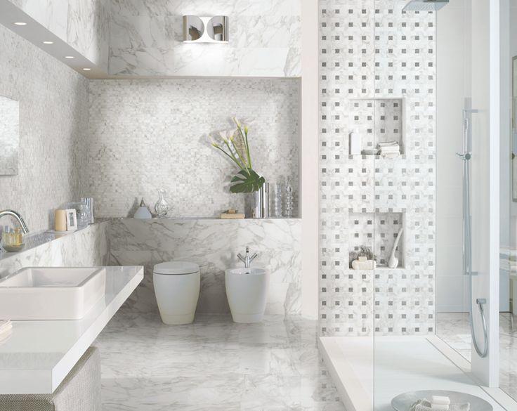 italian porcelain tile bathroom photo - 5