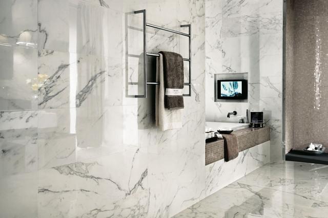 italian porcelain tile bathroom photo - 7