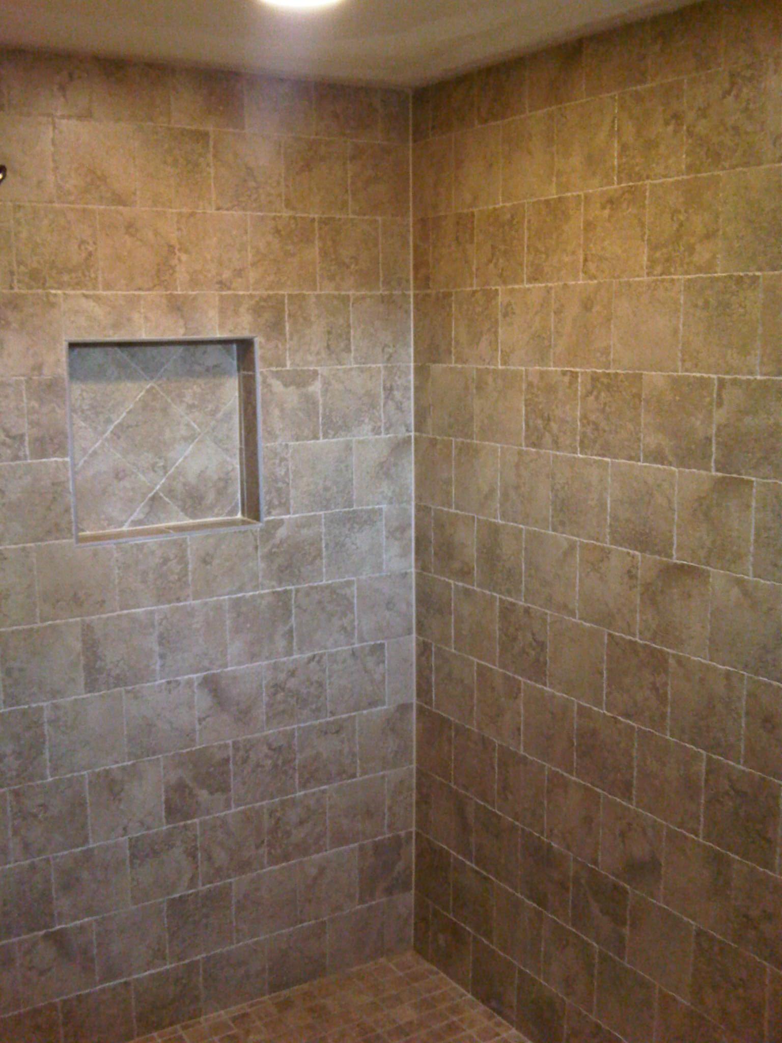 italian porcelain tile bathroom photo - 9