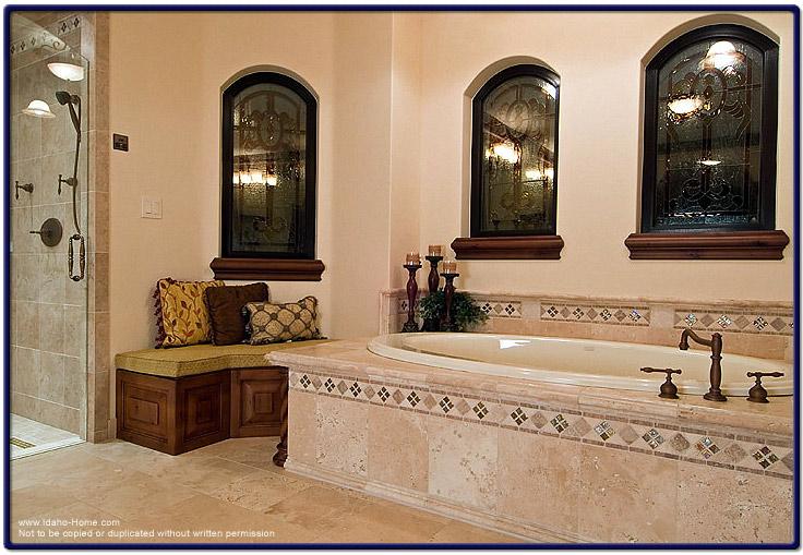 italian tile bathroom photo - 6