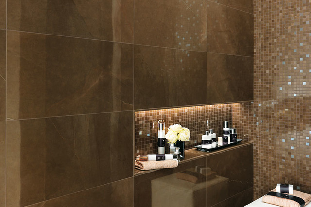 italian tile bathroom photo - 9