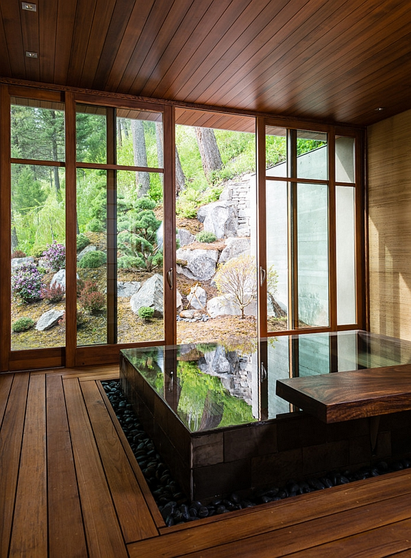 japanese bath house interior photo - 6