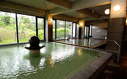 japanese bath house interior photo - 9