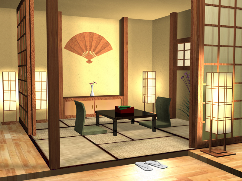 japanese house interior photo - 3