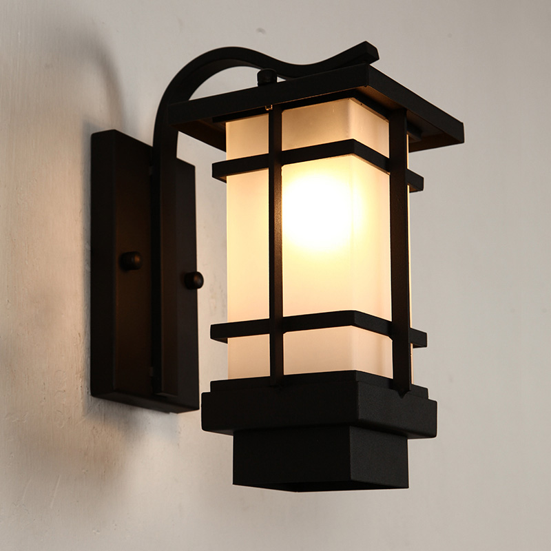 japanese outdoor wall lighting photo - 3
